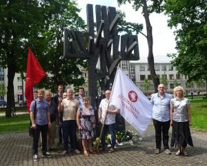 1941 m. Birželio sukilimo 79-ųjų metinių paminėjimas Kaune 2020-06-23.