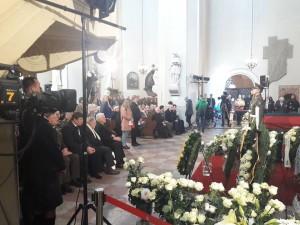 Brigados generolo Adolfo Ramanausko-Vanago valstybinės laidotuvės