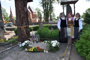 Brg. gen. Valdo Nagevičiaus kapo lankymas Kretingos kapinėse